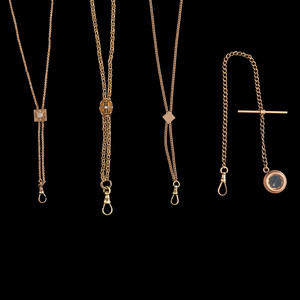 Four Watch Chains