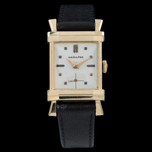 Hamilton Berkshire 14k Gold Wrist Watch