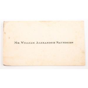 Confederate, Virginia Major William Saunders, 9th Virginia Militia/87th Virginia, Armed Half Plate Ambrotype Plus Personal Items