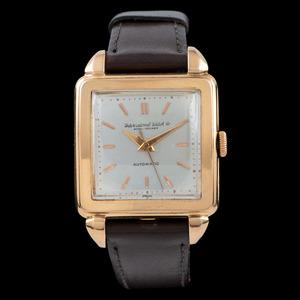 IWC Schaffhausen 18k Gold Automatic Wrist Watch
