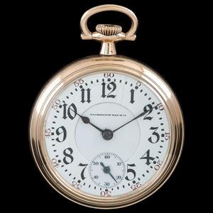 Washington Watch Co. Lafayette Pocket Watch