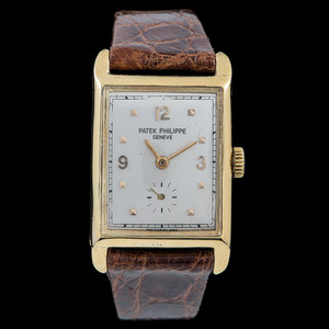 Patek Philippe 18k Gold Wristwatch, ca. 1929