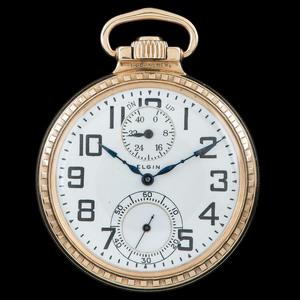 Elgin B.W. Raymond Railroad Pocket Watch