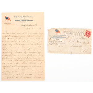 Padgett Family Archive of Civil War and Spanish-American War Letters, Featuring Correspondence from Libby Prison Escapee John J. Padgett, 22nd Indiana Infantry