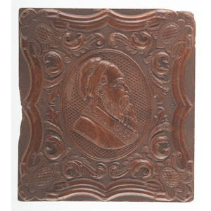 Civil War Sixth Plate Ruby Ambrotype of New York Zouave