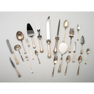 Reed & Barton Sterling Flatware Service, Dorothy Quincy