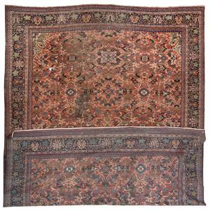 A Mahal Wool Rug