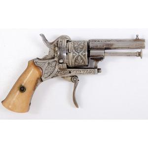 Pin Fire Revolver