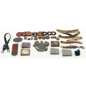 World War I Imperial German Parts and Memorabilia
