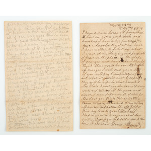 Correspondence from Henry I. Clark, 24th Connecticut Volunteers and Plantation Superintendent