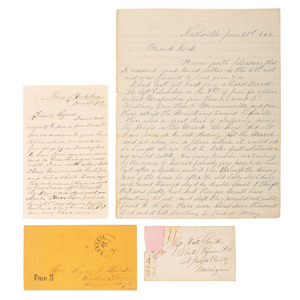 Civil War Western Theater Letter Archive, Inc. Outstanding Vicksburg Content