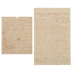 The Plantation South and Confederacy, Documents 1860-1865