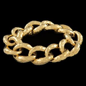 Henry Dunay 18k Gold Link Bracelet