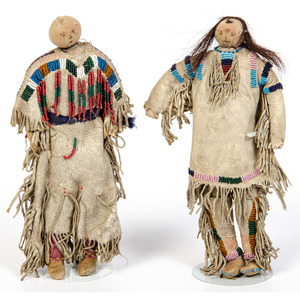 Northern Plains Hide Dolls