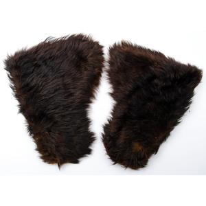 Bear Rug with Gloves