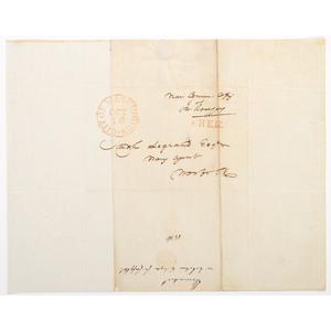 War of 1812 Naval Officer John Rodgers, Manuscript Letter Signed