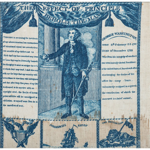 George Washington Memorial Handkerchief