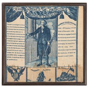 George Washington Memorial Handkerchief