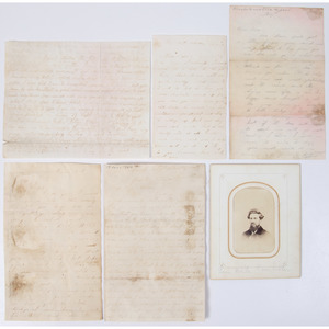 Civil War Letters of Levi W. Pemberton, 153rd OVI, Incl. Ball CDV
