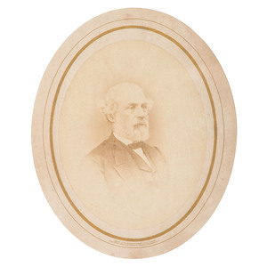 Robert E. Lee, Large Format Photograph by Mathew Brady, 1866