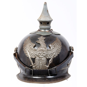 Restored Prussian Officer's Kürassier Metalhelme
