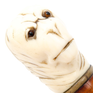 Sword Cane with Handle in Form of Monkey's Head