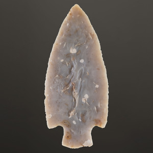 A Flint Ridge Adena Blade, Length 6 in.