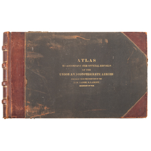 Atlas to Accompany the Official Records of the Union and Confederate Armies, in Two Volumes