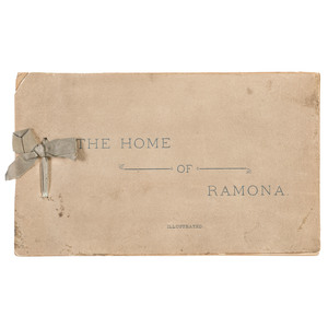 Charles F.  Lummis, The Home of Ramona Illustrated With Cyanotypes