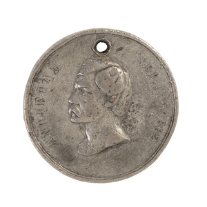 Large McClellan-Style ID Disc of John McGrath, Co. C, 109th Pennsylvania Volunteers