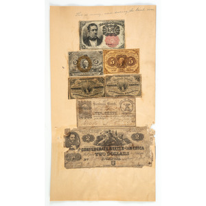 Thomas Sykes Archive, Including Star from the Flag of the CSS Alabama and Correspondence
