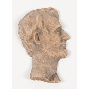 Lincoln Bust Comprised of Retired US Bank Notes