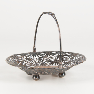 Chinese Silver Basket
