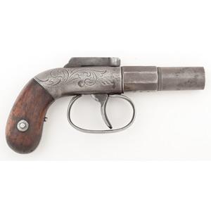 Allens Patent Bar Hammer Pistol