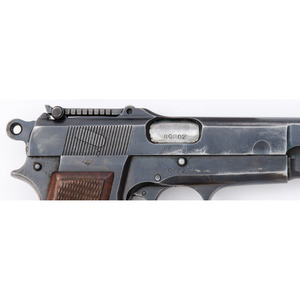 ** German-Marked FN Hi-Power Pistol with Holster