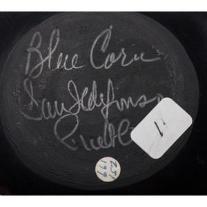 Crucita Calabaza, Blue Corn (San Ildefonso, 1921-1999) Pottery, Property of the National Museum of Women in the Arts, Washington, D.C.
