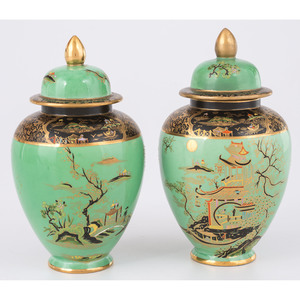 Carlton Ware Ginger Jars