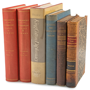 Blockade Runner Collection, Six Titles with Bulloch's The Secret Service of the Confederate States in Europe