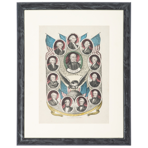 Composite Presidential Prints, Including Currier & Ives, Presidents of the United States, Plus, Lot of 5