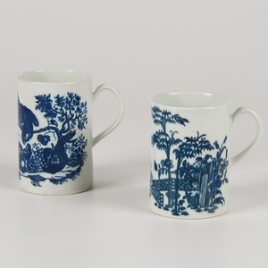Worcester Blue and White Mugs
