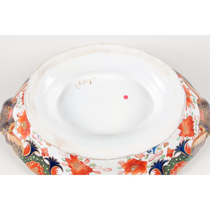 English Imari Pattern Porcelain, Including Royal Crown Derby and Coalport