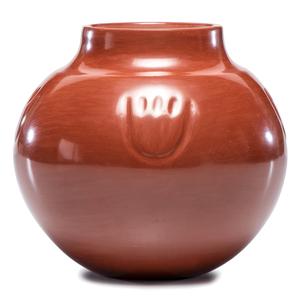 LuAnn Tafoya (Santa Clara, b. 1938) Award Winning Redware Jar