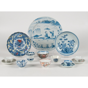 Chinese Export Porcelain Dishes and Cups