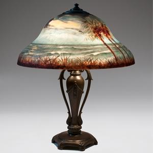 Classique Reverse-Painted Table Lamp