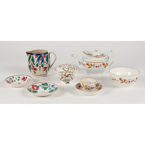English Pearlware and Ironstone Porcelain