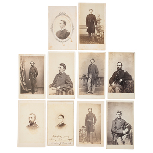 Massachusetts 17th Regiment CDV Album