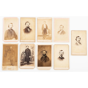 Sultana Survivor Colonel William S. Friesner, 58th Ohio Infantry, Family and Civil War Soldier CDV Albums