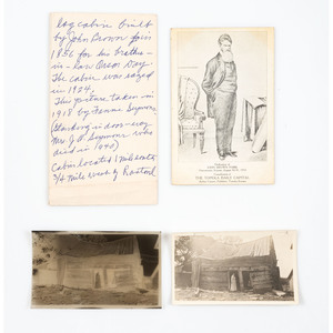 Wilson-Seymour Family Archive, Incl. Photos of John Brown Cabin