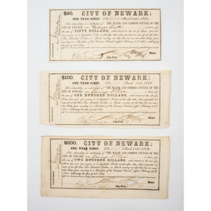 Newark, New Jersey in the Civil War, Manuscript Archive