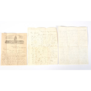 Wisconsin Family Archive Featuring Civil War Soldiers' Letters and a Wagon Train Journey